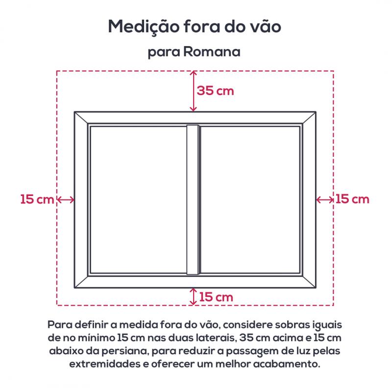 Persiana Romana Tecido Tela Solar Screen 5% Creme - Valor m2