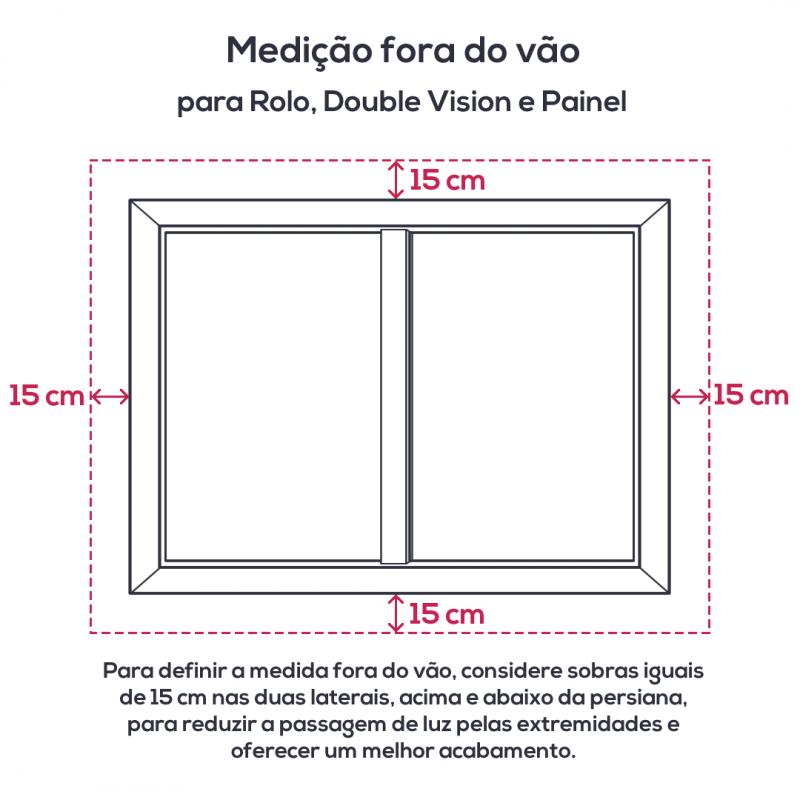 Persiana Rolo Tecido Tela Solar Screen 5% Bege - Valor m2