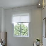 Persiana Rolo Tecido Translúcido Branco - Valor m2