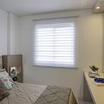 Persiana Double Vision Translucido Branco - Valor m2